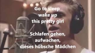 Cody Simpson  Pretty Brown Eyes Acoustic Version lyrics+deutsche Übersetzung