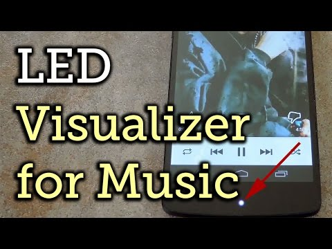 Turn Your LED Notification into a Music Visualizer - Android [How-To]
