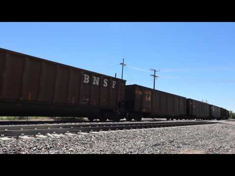 BNSF/UP Joint line, northbound train near Martin Drake power - Colorado Springs