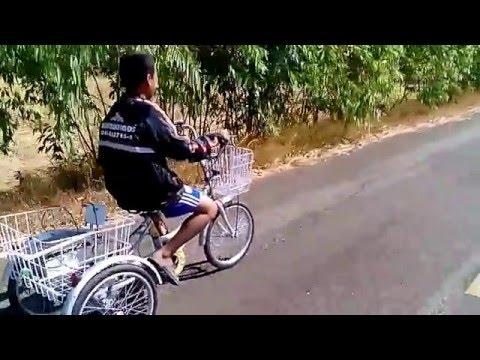 จักรยานสามล้อไฟฟ้าช่างอุ้มปทุมรัตต์3