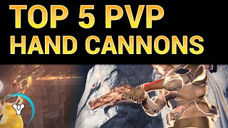 Planet Destiny: Top 5 Hand Cannons for the Crucible (Pre-DLC)