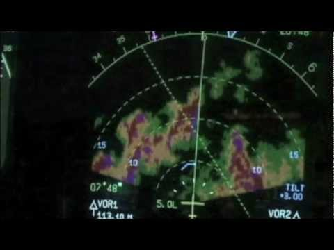 Serious Thunderstorms out of Banjul (A330)