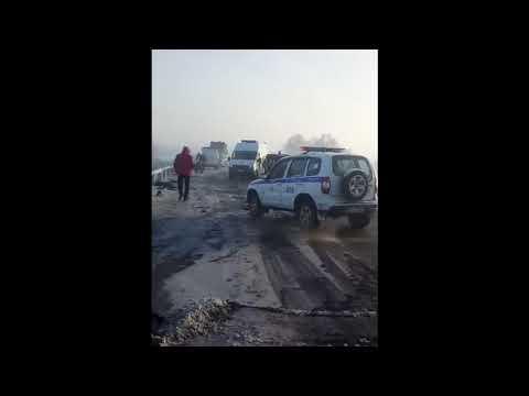 Жесткое ДТП под Сосновкой  Новокузнецкий район  5 декабря 2019 г