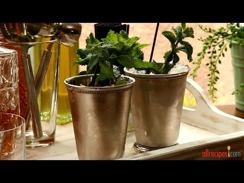 How to Make Mint Juleps   Cocktail Recipes   Allrecipes.com
