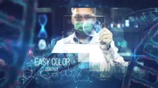 Medical DNA Presentation After Effects Template