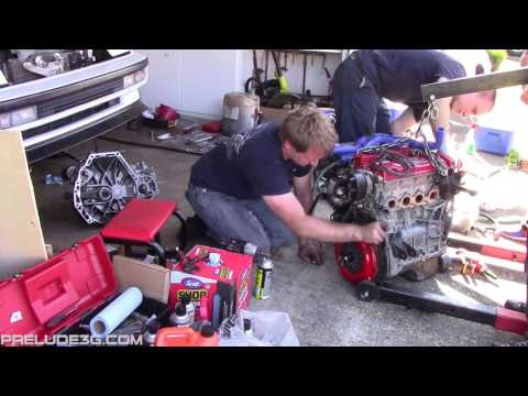 (FIXED) H22 Swap Party Time Lapse - 1FunRyd