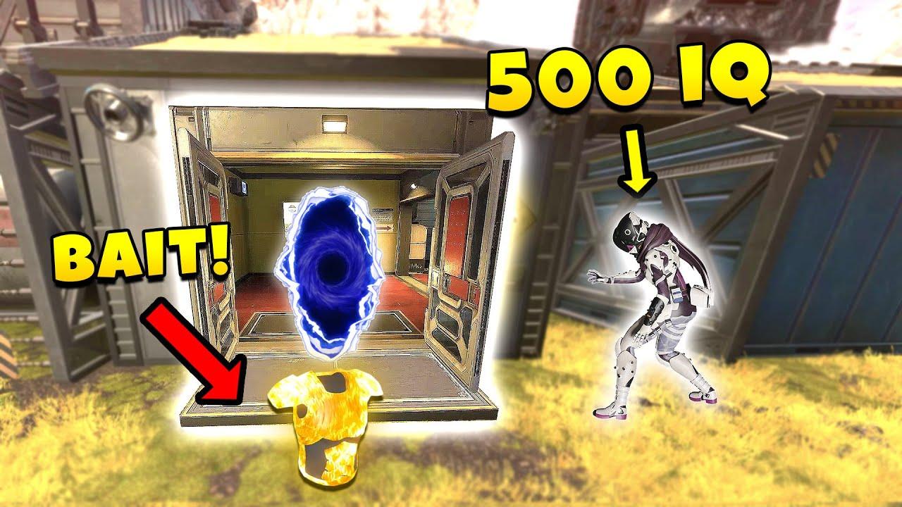 *NEW* 500 IQ PORTAL BAIT TRICK! - NEW Apex Legends Funny & Epic Moments #389