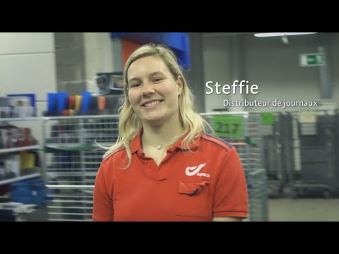 Steffie – Distributeur de journaux chez bpost
