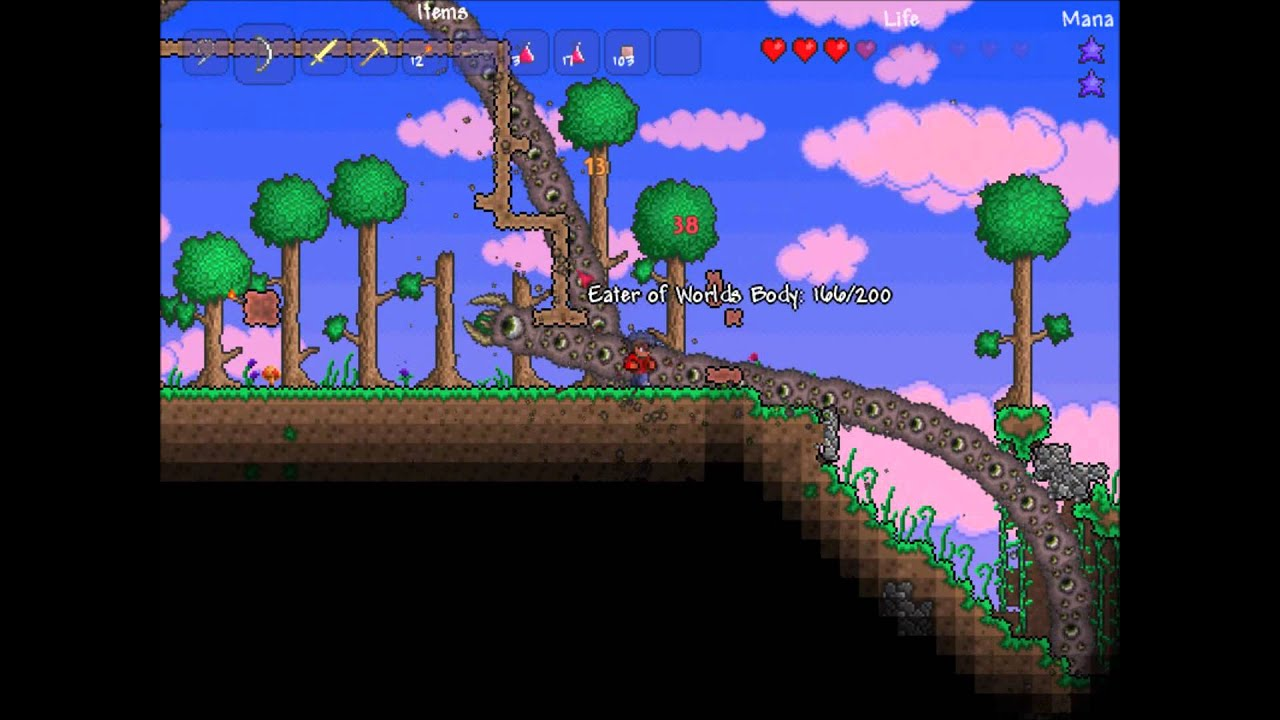 Terraria How To Get Get Worm Food