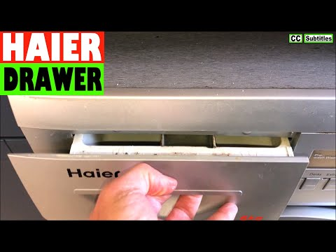 How To Remove Dispenser Drawer On Haier Washing Machine