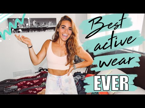 BEST ACTIVEWEAR BRANDS FOR ATHLETIC BODY TYPES | activewear haul