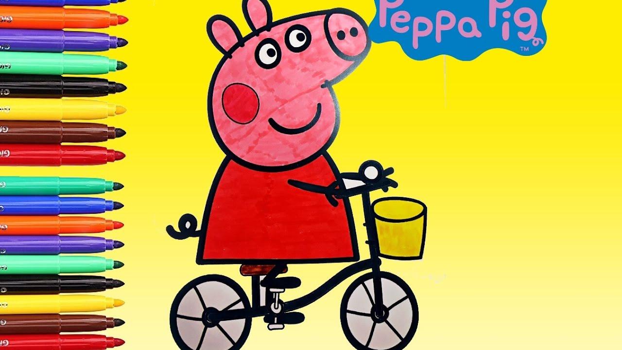 Peppa pig peppa pig italiano disegni da colorare for Peppa pig disegni da colorare
