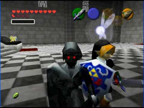Legend Of Zelda Ocarina Of Time Dark Link | www.pixshark ...