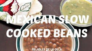 Mexican Beans In A Pot  Frijoles De La Olla