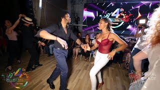 Terry SalsAlianza & Bersy Cortez - Salsa social dancing | 4th World Stars Salsa Festival