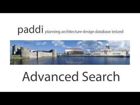 PADDI (Planning Architecture Design Database Ireland)