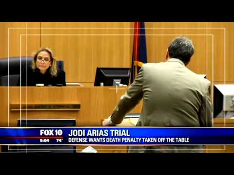 Arias Lawyers Want Death Penalty Off Table–Claim Prosecutor Misconduct & Witnesses Afraid to Testify
