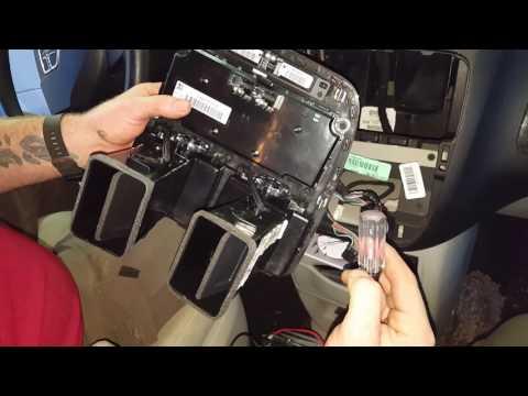 2011 Grand Caravan Heater Control Replacement.