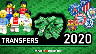Football Transfers 2020 in Lego Top Confirmed Transfers Summer 2020 in Lego Football Film