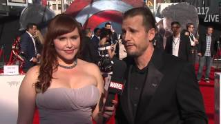 Mike Dodge- CEO of The Audience on Marvel's Captain America: Civil War Red Carpet Premiere