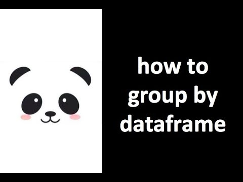 [Pandas Tutorial] how to group by column in dataframe
