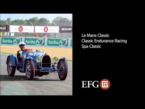 EFG - the private bank for historic motor racing (2014)