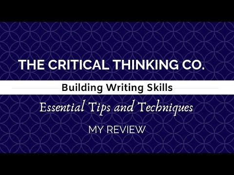 Building Writing Skills | The Critical Thinking Co. | A Review