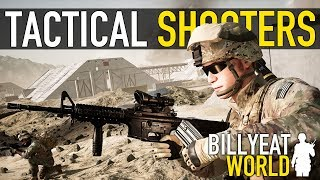 Top 5: Tactical Shooter Games | Best Realistic Military Games