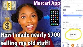 I made nearly $700 in 3 weeks on Mercari!