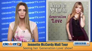 "Jennette McCurdy ""Generation Love"" Mall Tour Update"