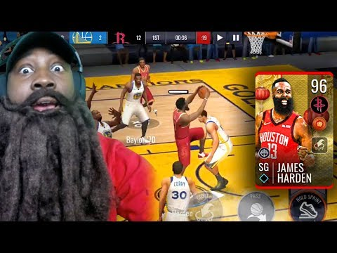 SCORING 60 POINTS WITH 96 OVR MASTER HARDEN! NBA Live Mobile 19 Season 3 Ep. 42