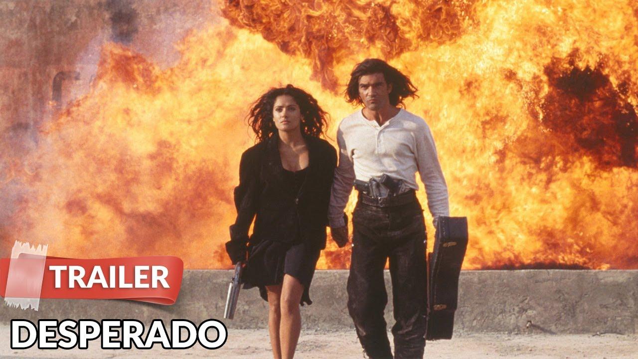 Desperado 1995 Trailer Hd Antonio Banderas Salma Hayek Youtube