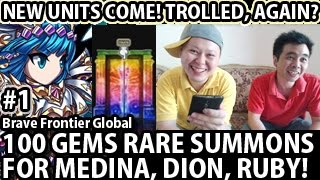 Video Brave Frontier Global 100 Gems Rare Summon For Medina Dion Ruby! (With Milko) #1 download MP3, 3GP, MP4, WEBM, AVI, FLV November 2018