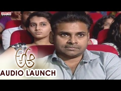 Rang De Song Launch At A Aa Audio Launch || Nithiin, Samantha