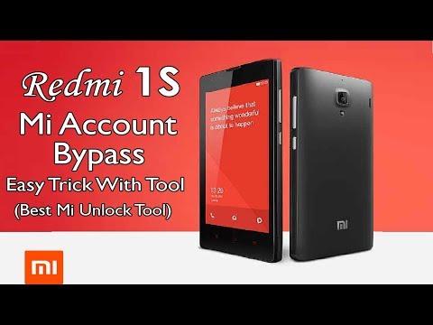 Xiaomi Redmi 1S 2013029 Mi Account Bypass Lock Remove | Mobile Info
