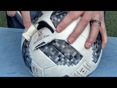 What's Inside The World Cup Soccer Ball?