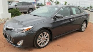 2013 Toyota Avalon XLE Start up, Walkaround and Vehicle Tour
