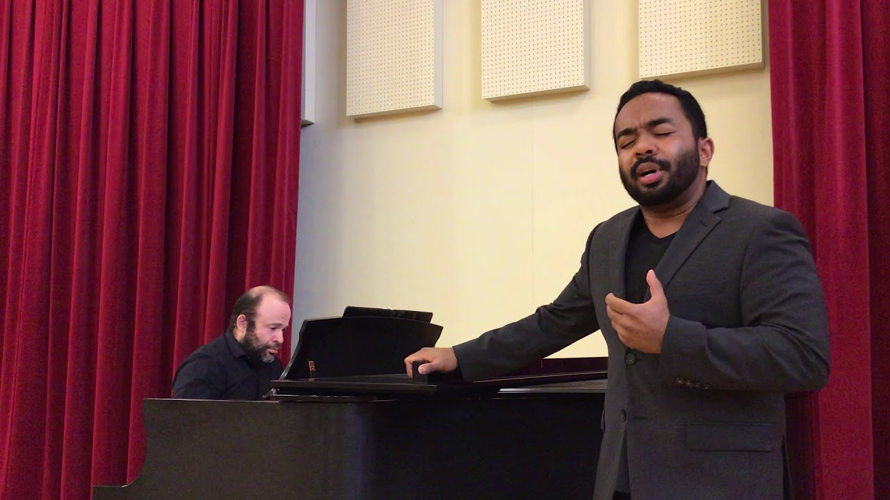 I know why the caged bird sings - Martin Bakari, tenor