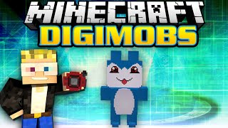 Minecraft Modded Survival - Digimobs Modded Adventures - Virus Data [3]