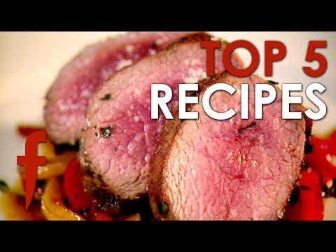Top 5 Gordon Ramsay Recipes | The F Word Season 3