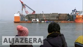South Korea: Relatives of Sewol ferry victims seek answers