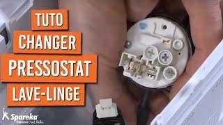 Changer Pressostat Machine à Laver