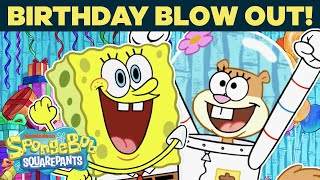 SpongeBob's Surprise Party 🎂 SPONGEBOB'S BIG BIRTHDAY BLOW OUT