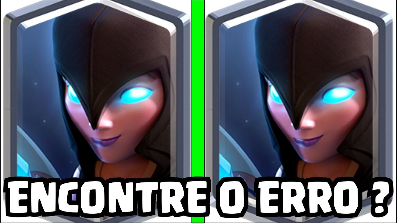 Encontre O Erro 6 Teste De Inteligencia Clash Royale Youtube