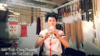 Sứ Thanh Hoa (青花瓷) - Thắm Sáo ( sáo bầu )