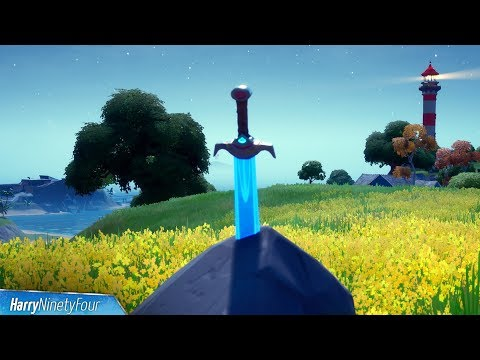 Search Skye's Sword In A Stone Found In High Places Locations - Fortnite