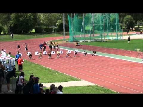 Finale 60m U16W Championnats Genevois
