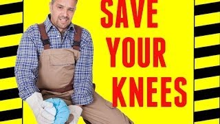 3 Ways to Save Your Knees - Knee Safety -  Prevent Knee Pain