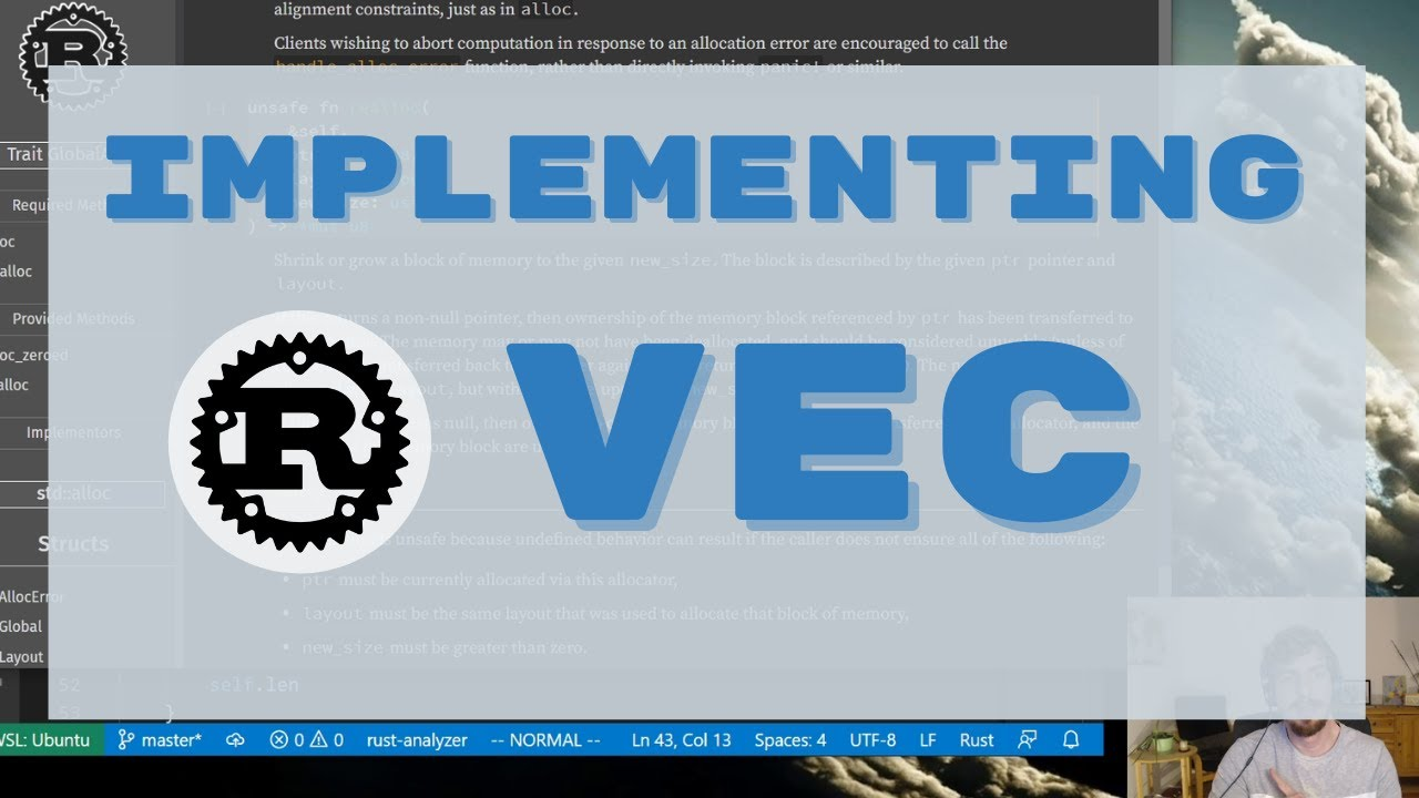 Implementing Rust's Vec From Scratch