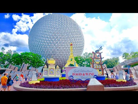 Inside the Epcot Food & Wine Festival 2017 at Walt Disney World